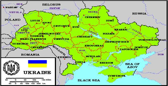 Ukraina Polozenie Geograficzne Warunki Naturalne Klimat
