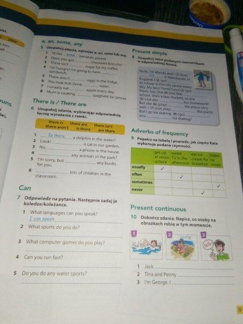 Proszę o pomoc z zadaniami z języka angielskiego wszystkimi ze zdjęć. Pilnie proszę o pomoc. - załącznik 1
