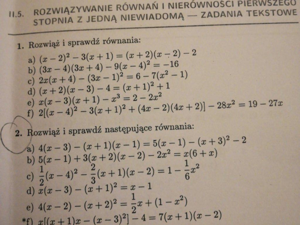 Proszę o szybką pomoc w rozwiązaniu zadań 1,2,8,9 i 10. - załącznik 2