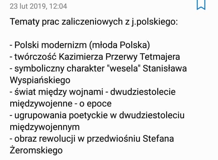 Potrzebuję wypracowanie na jeden z tematów które zamieszczam w załączniku z polskiego za dobra nie - załącznik 1