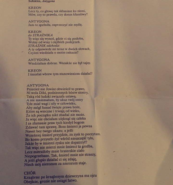 Sofokles , Antygona 250 wyrazow - załącznik 1
